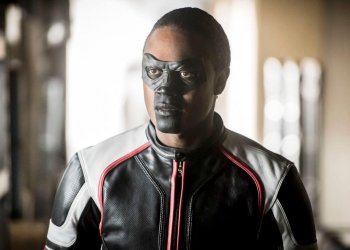 """Arrow -- """"We Fall"""" -- Image Number: AR611a_0007.jpg -- Pictured: Echo Kellum as Curtis Holt/Mr. Terrific -- Photo: Dean Buscher/The CW -- �© 2018 The CW Network, LLC. All Rights Reserved."""