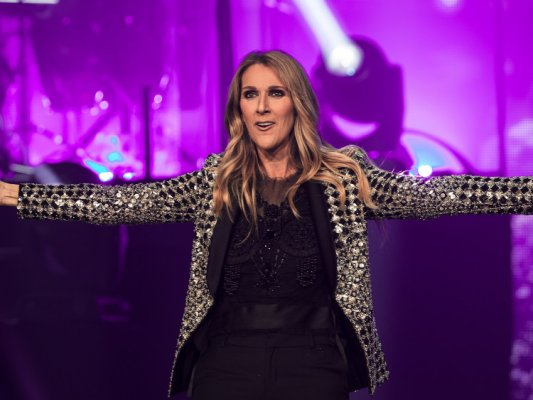 Celine Dion in concert at the First Direct Arena, Leeds, UK – 25 Jun 2017