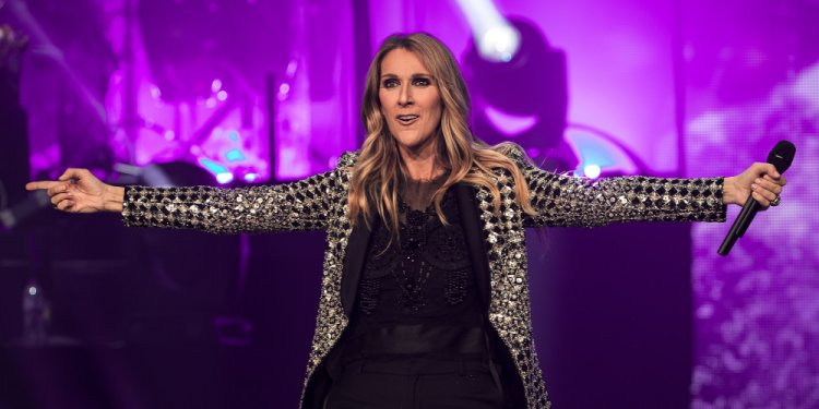 Mandatory Credit: Photo by Joel Goodman/Lnp/REX/Shutterstock (8879856c) Celine Dion Celine Dion in concert at the First Direct Arena, Leeds, UK - 25 Jun 2017 Celine Dion performs in the first of two shows relocated from the Manchester Arena following a murderous terror attack at the Manchester venue .