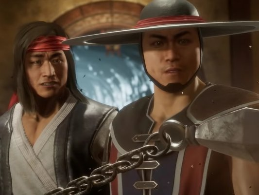 poltrona-Kung-Lao-e-Liu-Kang-em-cena-de-Mortal-Kombat-11-Topo