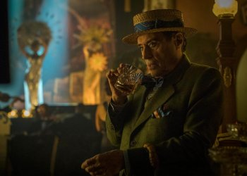American Gods Season 2, Episode 6 Mr Wednesday (Ian McShane) CR: Jasper Savage/Starz