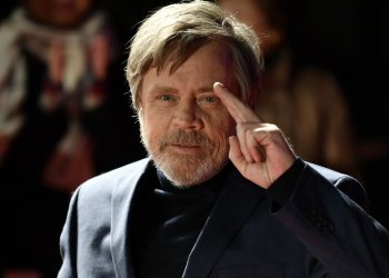 Mandatory Credit: Photo by FRANCK ROBICHON/EPA-EFE/REX/Shutterstock (9262744c) Mark Hamill 'Star Wars: The Last Jedi' red carpet event in Tokyo, Japan - 06 Dec 2017 US actor and cast member Mark Hamill gestures during the red carpet event of the upcoming movie ?Star Wars: The Last Jedi? in Tokyo, Japan, 06 December 2017. The latest opus of the Star Wars saga will be screened in Japan from 15 December.
