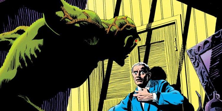 A Saga do Monstro do Pântano, por Alan Moore - A Lição de Anatomia