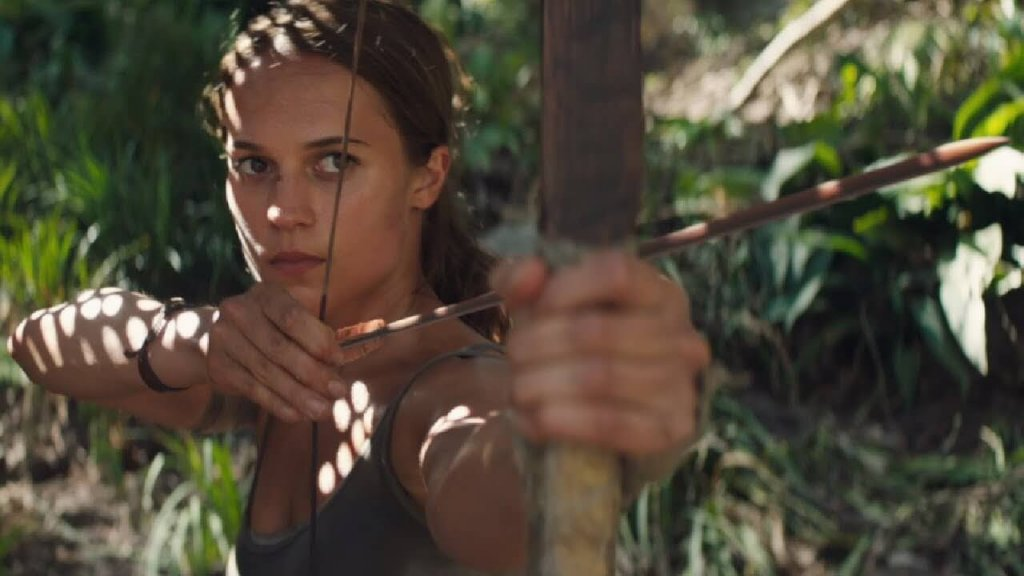 Lara Croft na Netflix