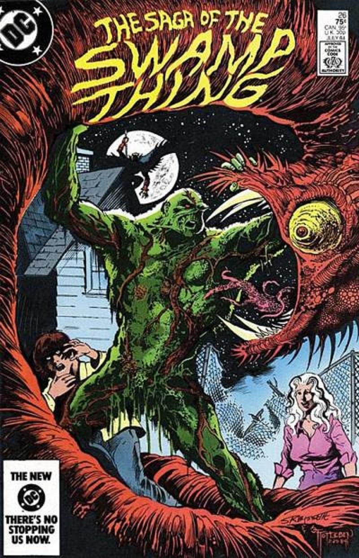 A Saga do Monstro do Pântano, por Alan Moore - Uma Hora de Correr