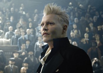FANTASTIC BEASTS: THE CRIMES OF GRINDELWALD  JOHNNY DEPP as Gellert Grindelwald Credit: Warner Bros. Pictures