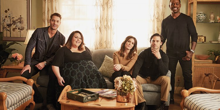 (L-R) Justin Hartley, Chrissy Metz, Mandy Moore, Milo Ventimiglia and Sterling K. Brown photographed for Variety by Bryce Duffy on the set of This Is Us on February 12, 2017 in Los Angeles.