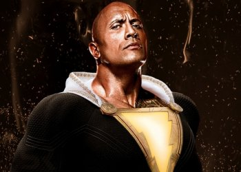 Adão Negro com The Rock