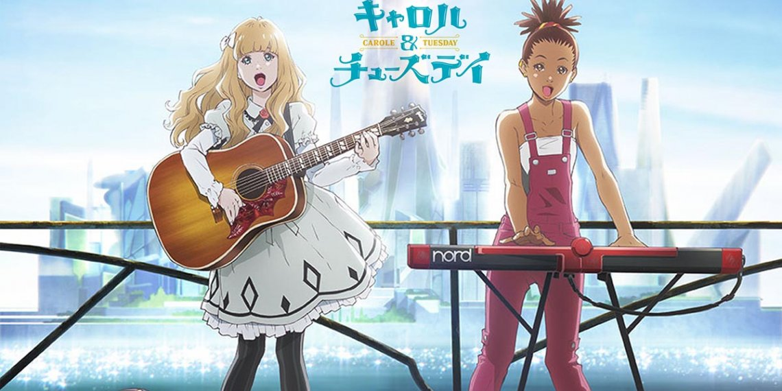A segunda metade de Carole & Tuesday Anime estréia na Netflix em todo o mundo em 24 de dezembro