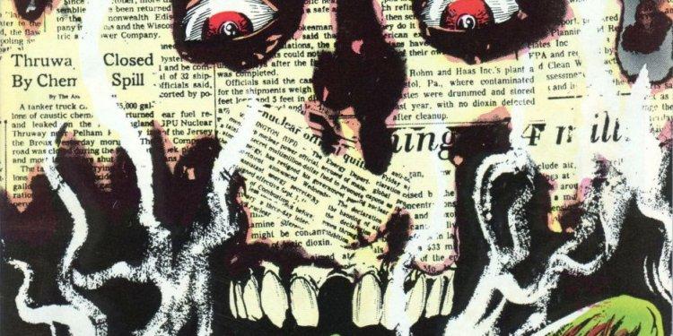 A Saga do Monstro do Pântano, por Alan Moore - Notícias do Fuça-Radioativa - Capítulo Um