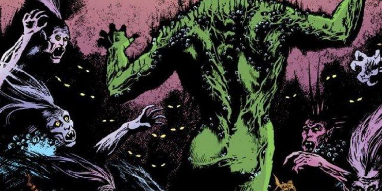 A Saga do Monstro do Pântano, por Alan Moore - Águas Paradas