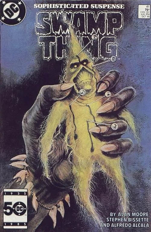 A Saga do Monstro do Pântano, por Alan Moore - Mudança Sulista