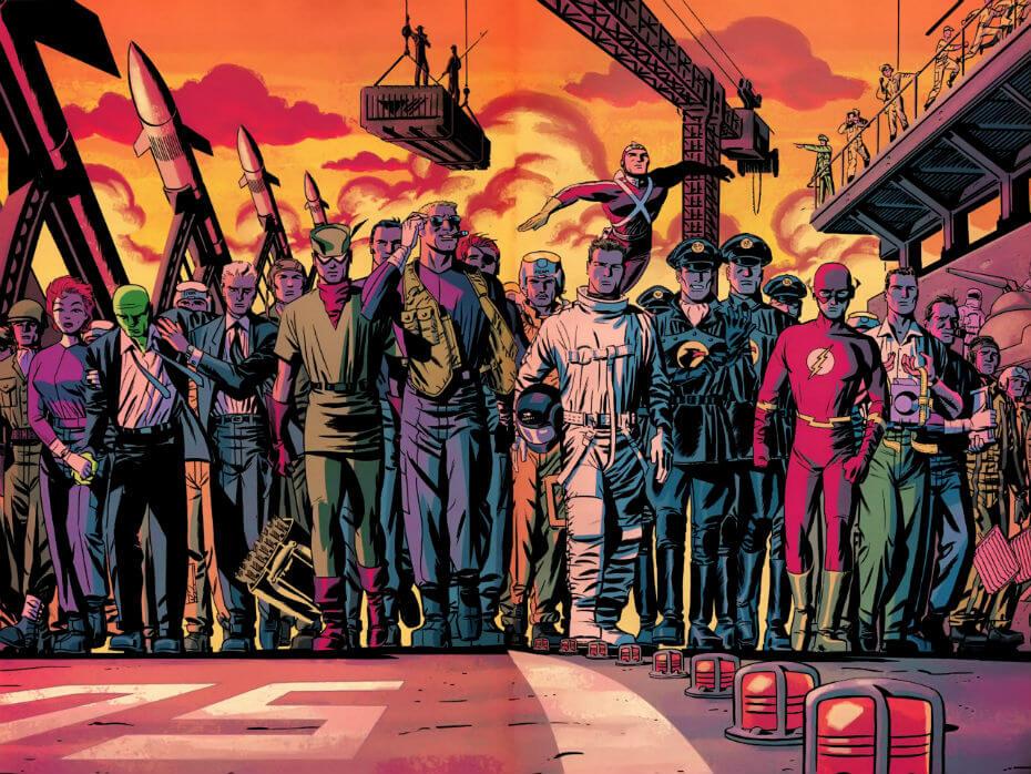 DC A nova Fronteira, por Darwyn Cooke