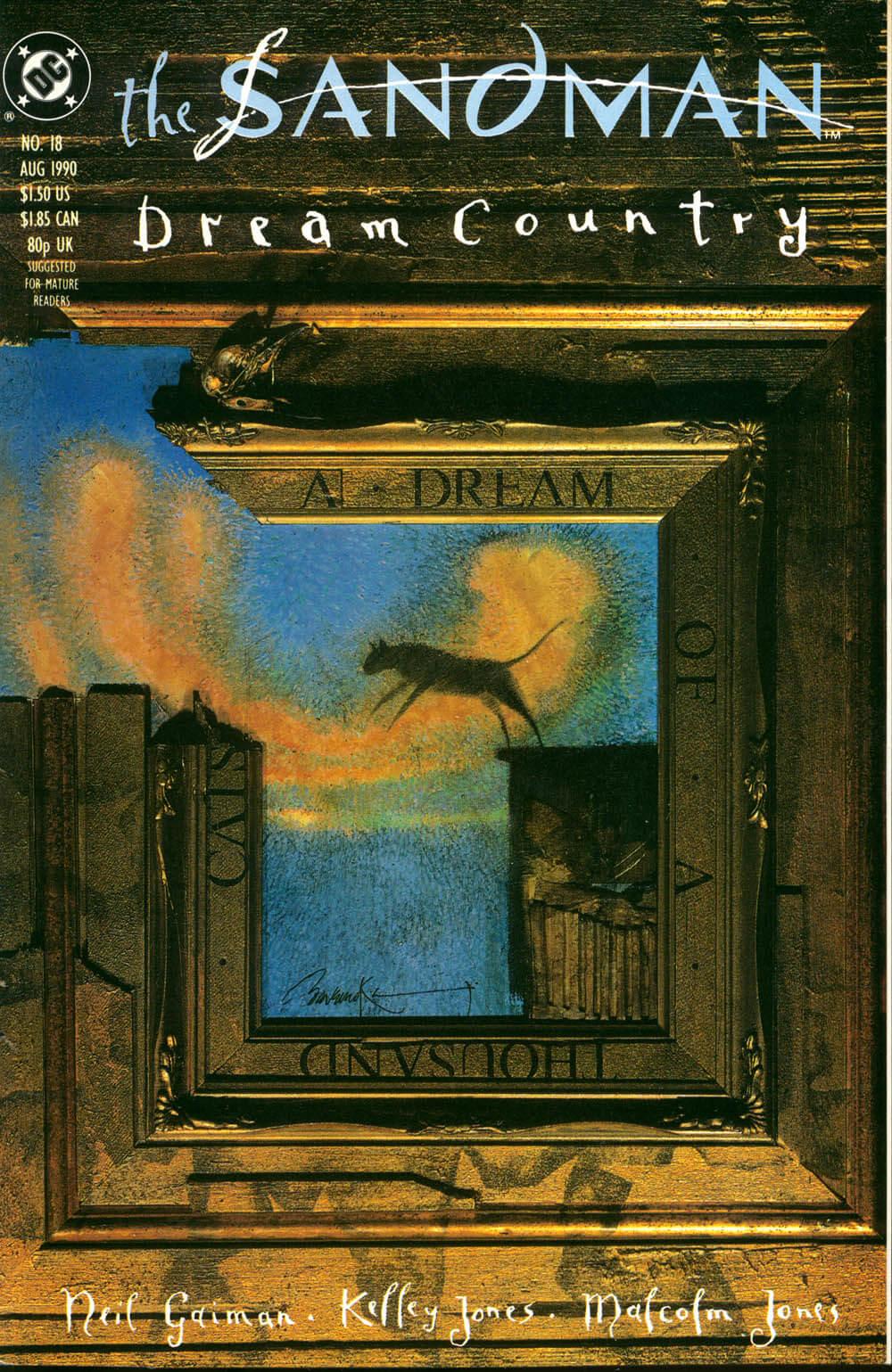 Sonho de mil gatos, em Sandman Terra dos Sonhos, por Neil Gaiman