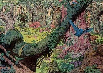 saga do monstro do pantano, por alan moore - parlamento das árvores