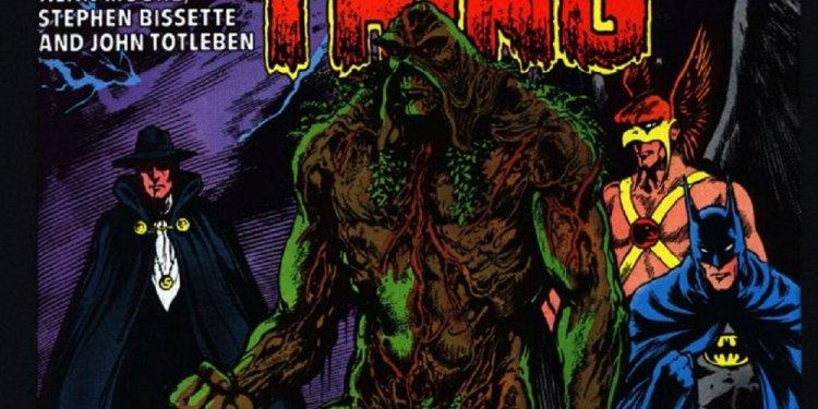 saga do monstro do pantano, por alan moore - revelações