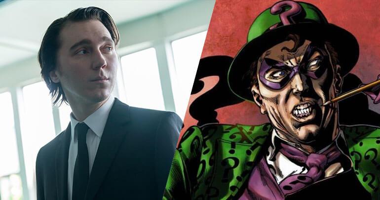 Resultado de imagem para The Batman: Paul Dano será o Charada no filme