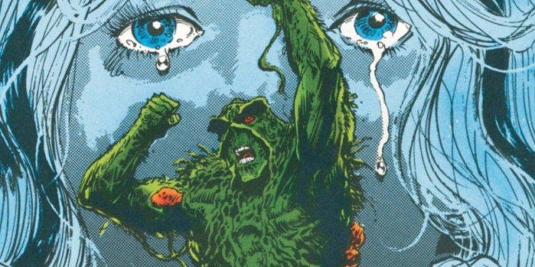 A Saga do Monstro do Pântano, por Alan Moore - Em casa