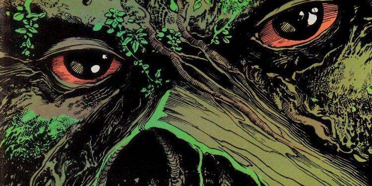 A Saga do Monstro do Pântano, por Alan Moore - O Conjuro
