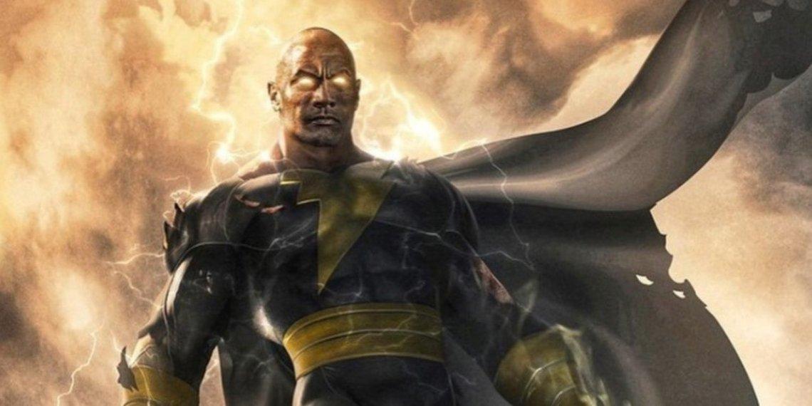 Resultado de imagem para black adam the rock