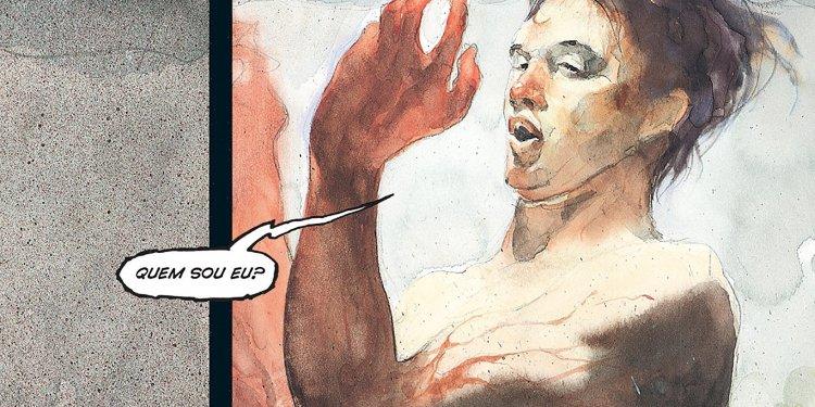 Blood, por J. M. DeMatteis e Kent Williams