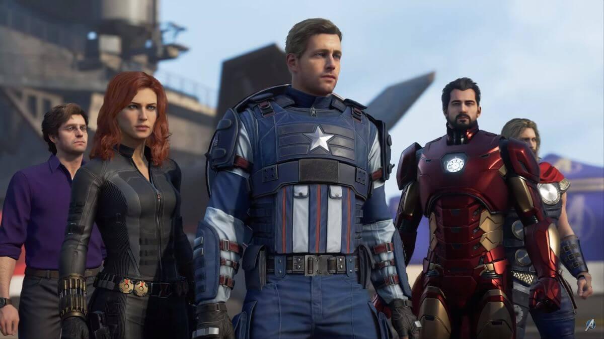 Resultado de imagem para avengers game