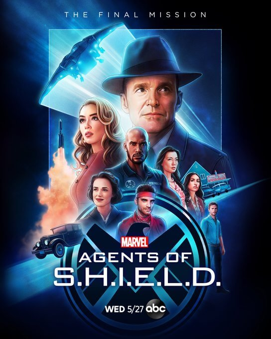 Agents of SHIELD cartaz