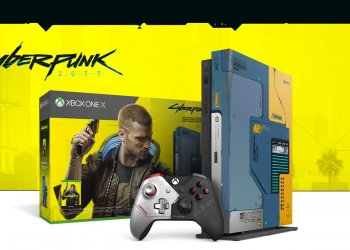 Pacote Xbox One X Cyberpunk 2077 Limited Edition