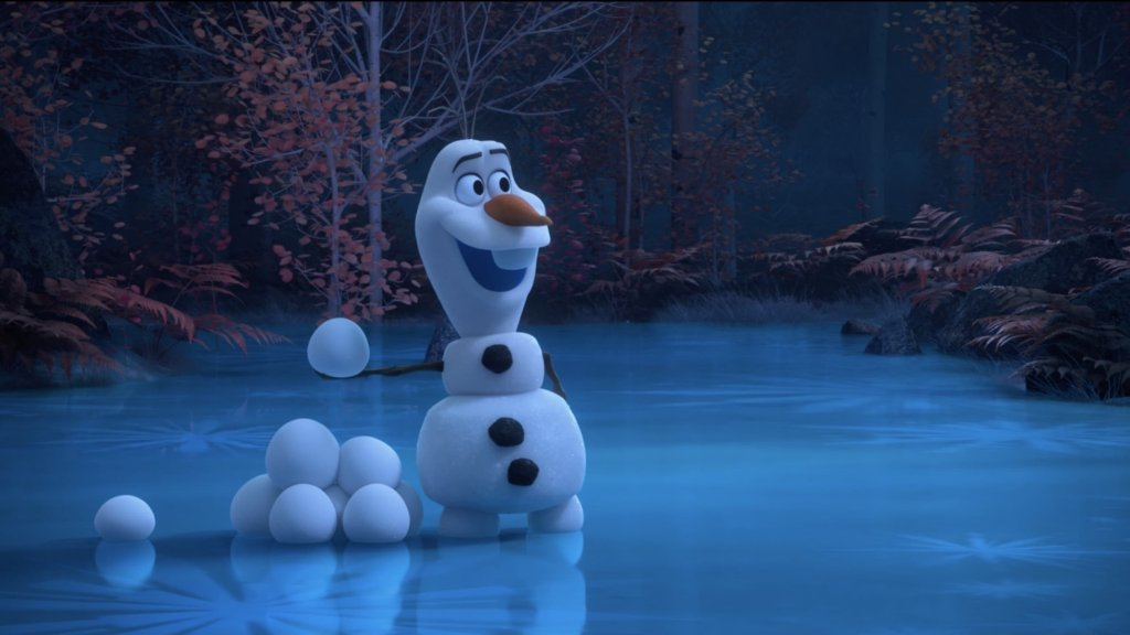 Olaf em At Home With Olaf da Frozen e Disney