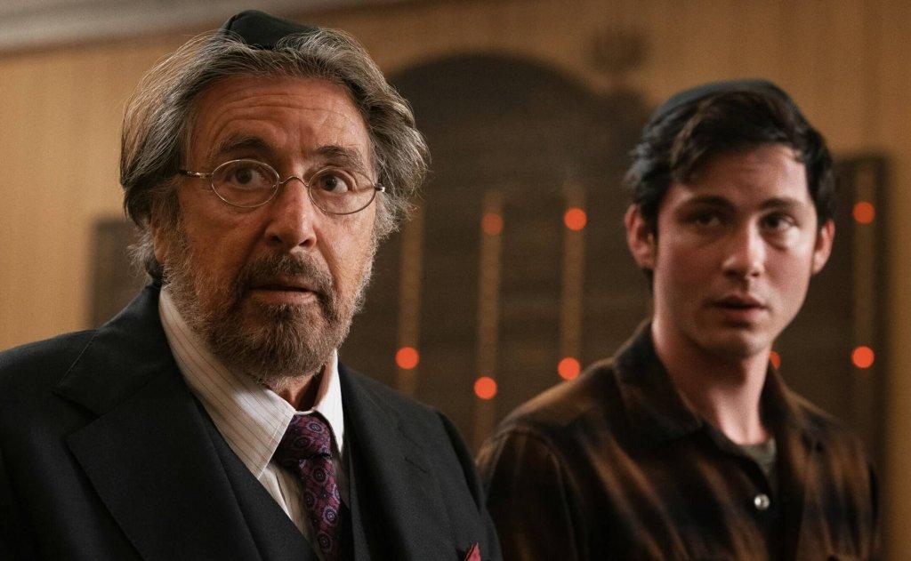 Logan Lerman e Al Pacino em Hunters