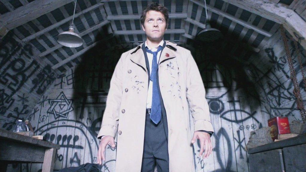Castiel em Supernatural