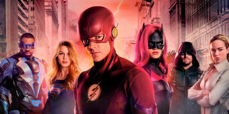 Séries do Arrowverse, The Flash, Supergirl, Arrow e Legends of Tomorrow