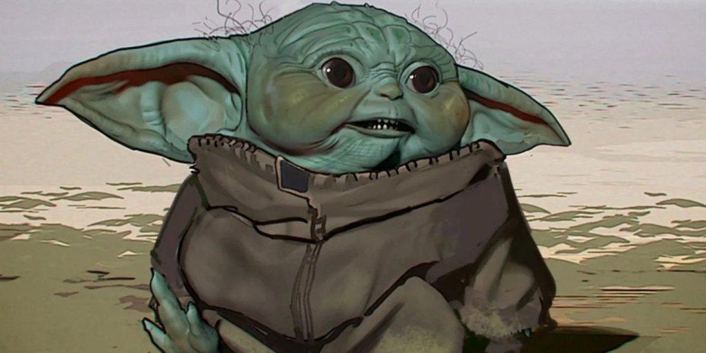 Baby Yoda feio