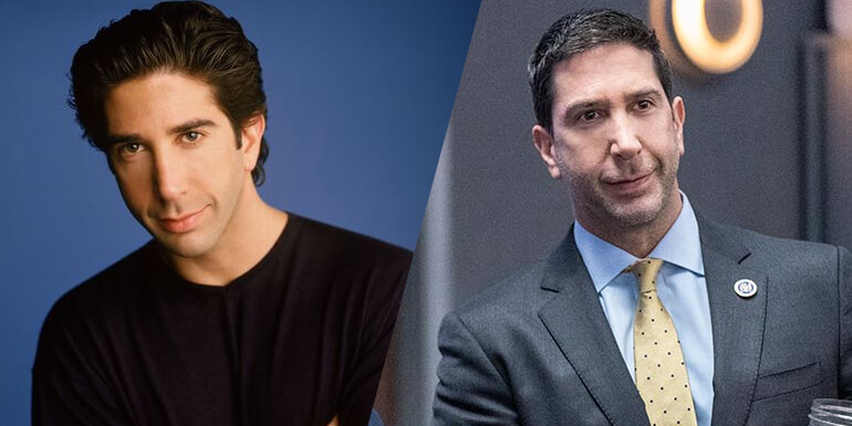 David Schwimmer da série FRIENDS