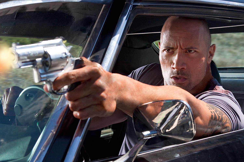 Dwayne Johnson in Faster (2010)