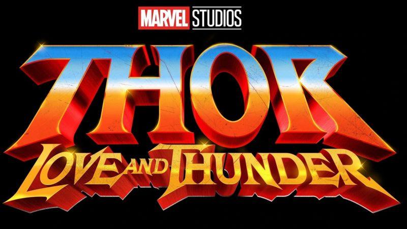 Logo do filme Thor: Amor e Trovão