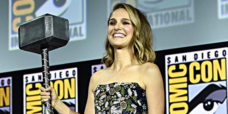 Natalie Portman será Thor