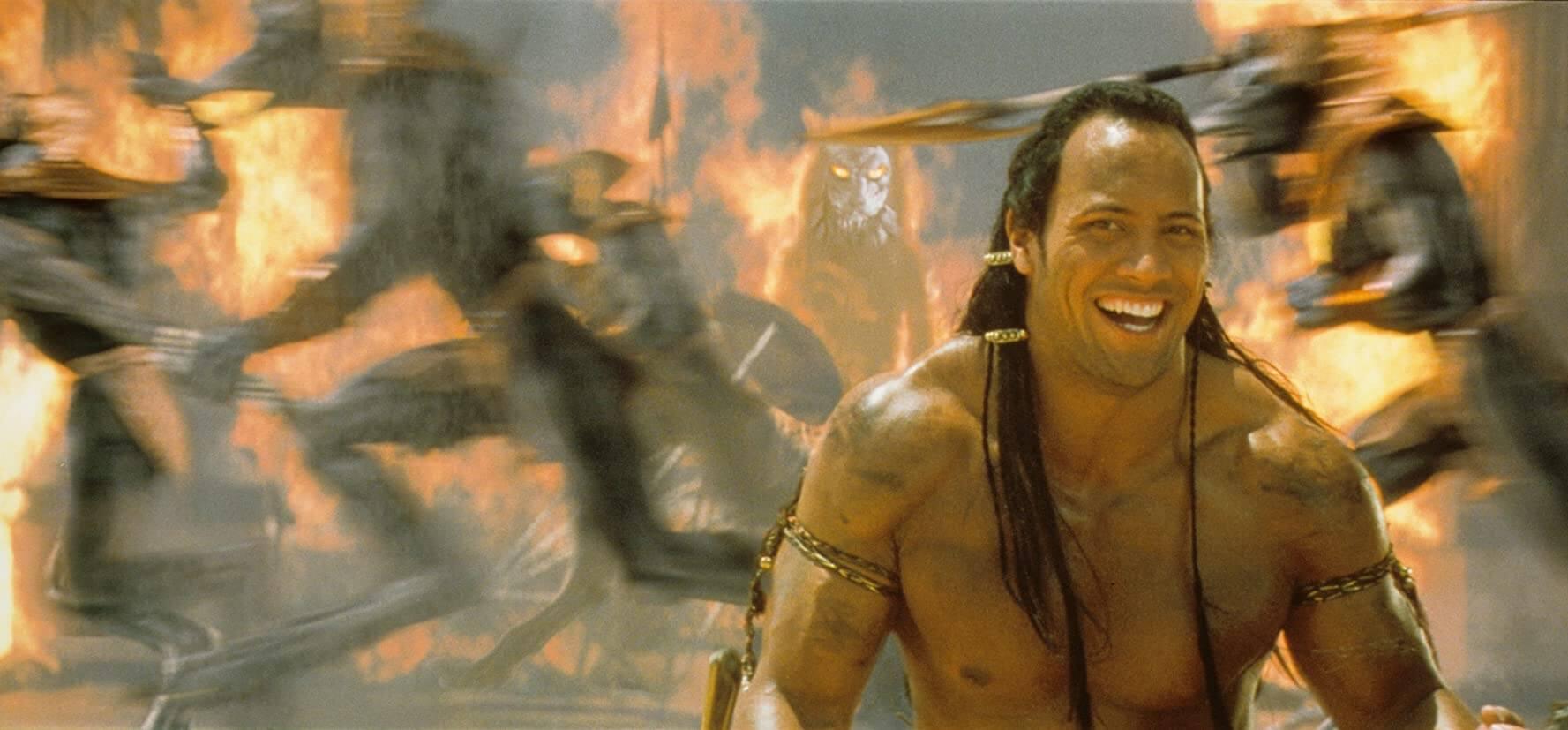 Dwayne Johnson in The Mummy Returns (2001)