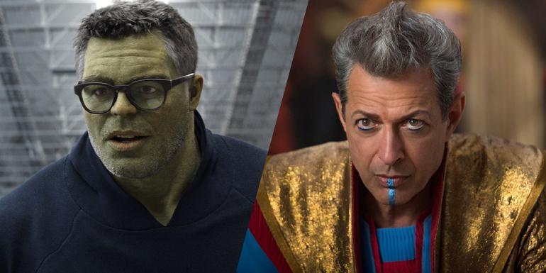 Ruffalo e Jeff Goldblum em Thor