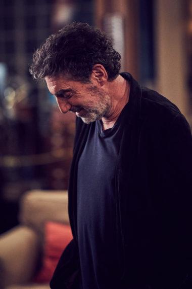 O produtor executivo Chuck Lorre criou a série icônica com Bill Prady e, é claro, esteve presente na gravação final da série.
