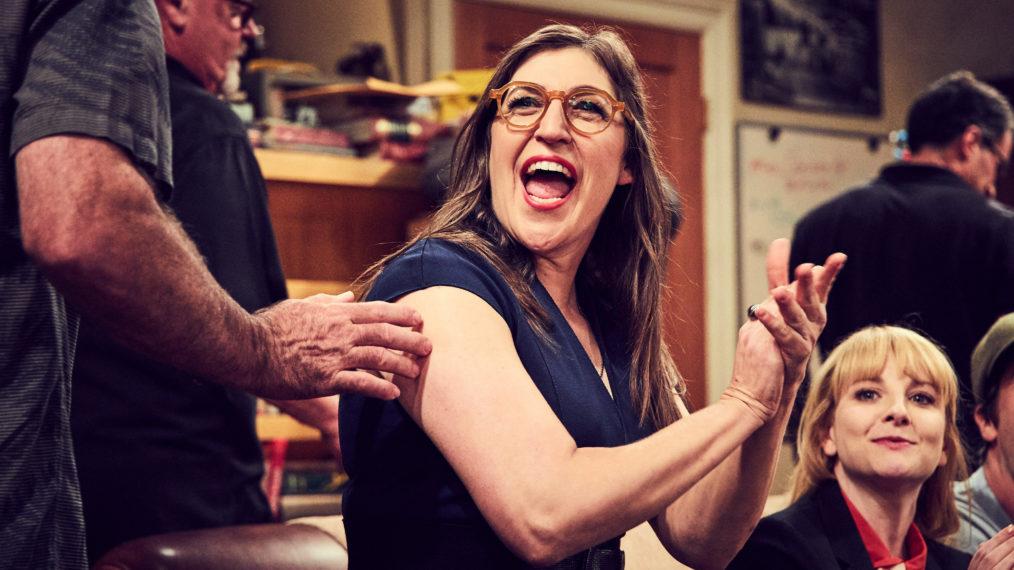 Mayim Bialik e Melissa Rauch (Bernadette) de The Big Bang Theory