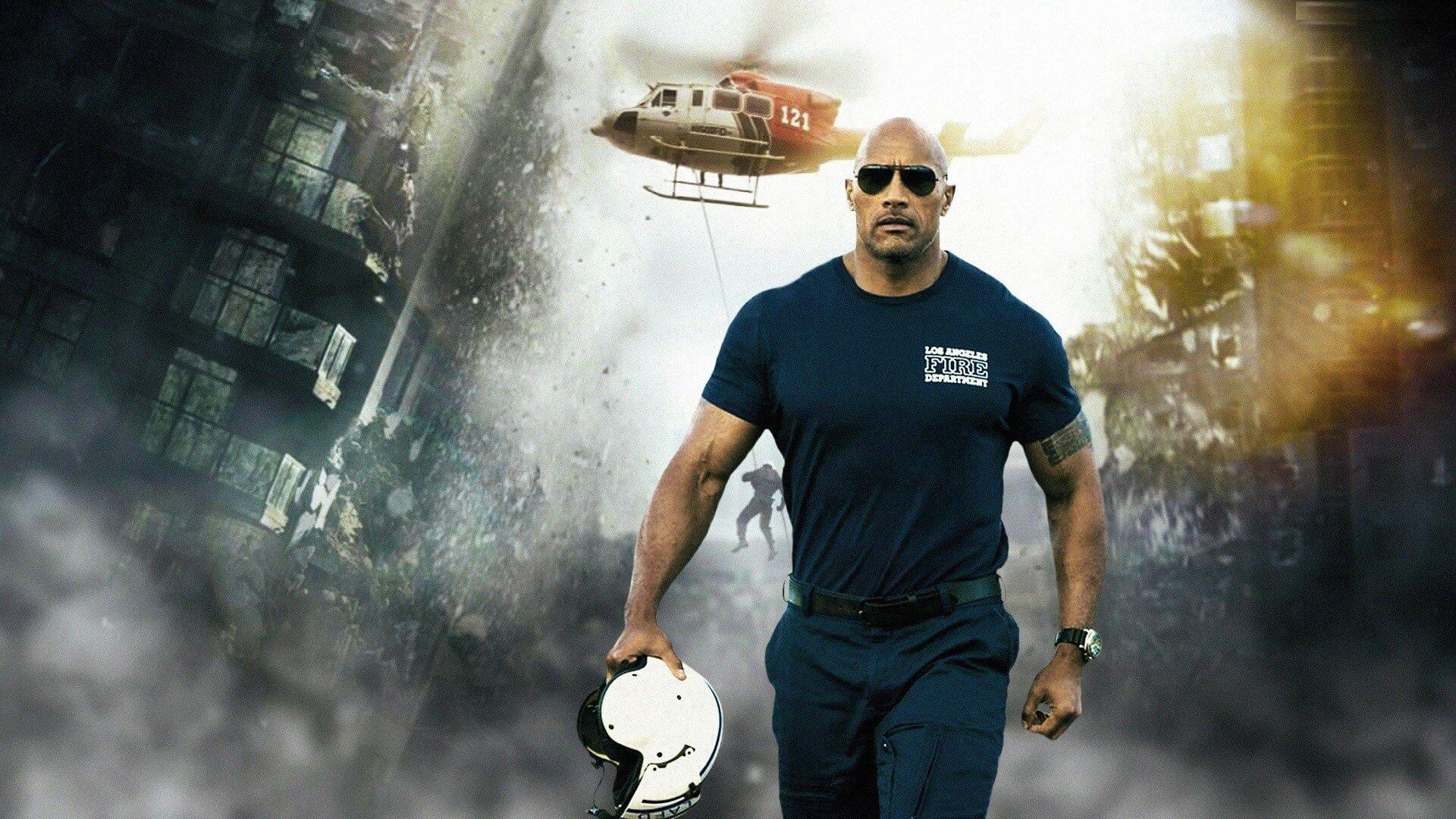 Terremoto A Falha de San Andreas (2015) com The Rock