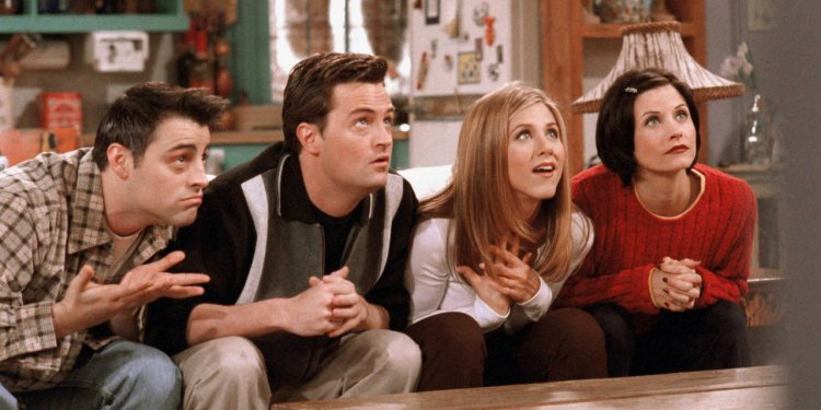 Friends série de comédia na Netflix