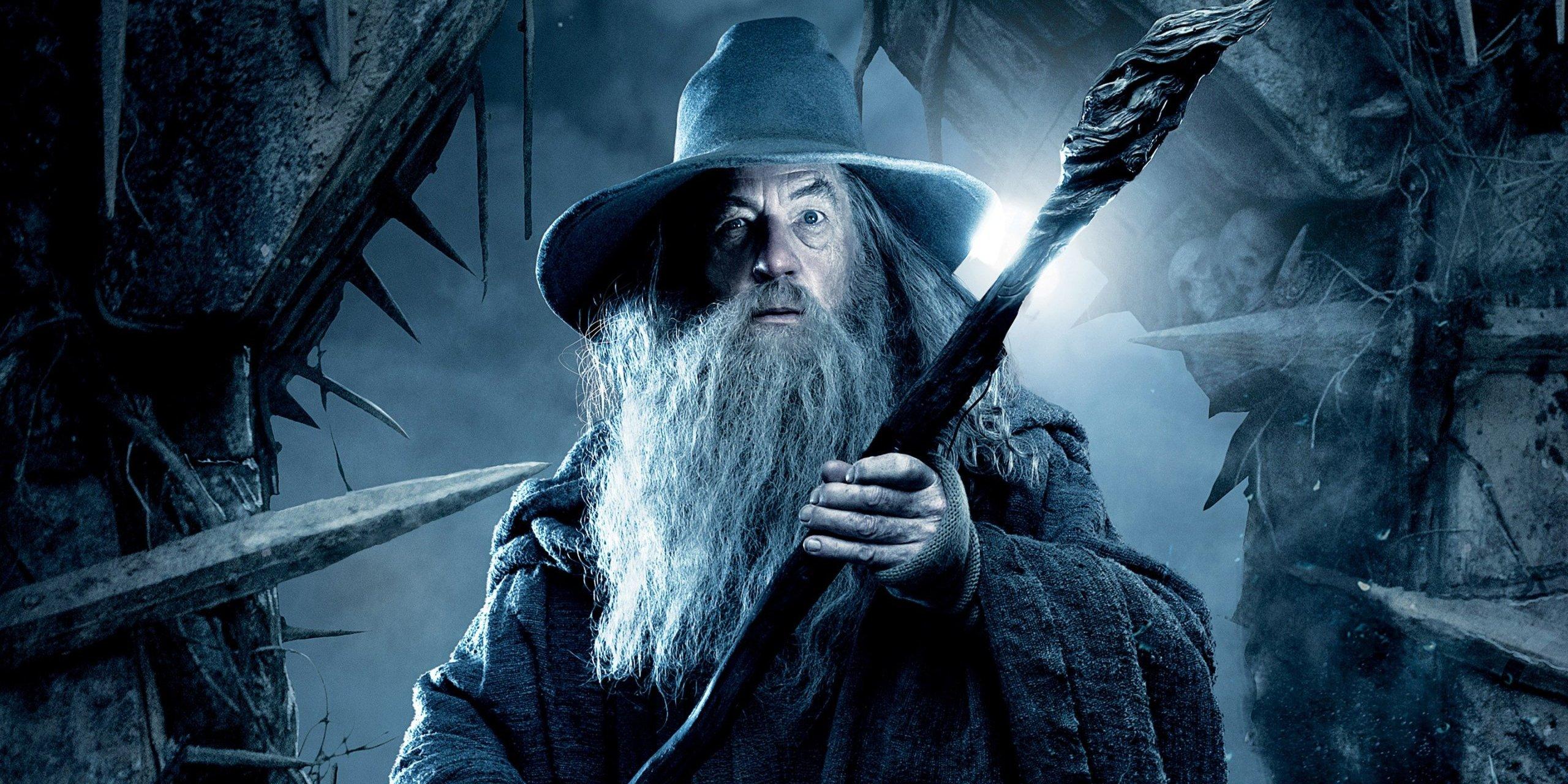 Hobbit com Ian McKellen