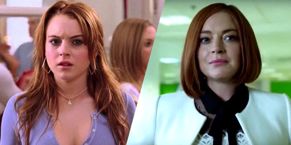 Lindsay Lohan (Cady Heron) em Meninas Malvadas