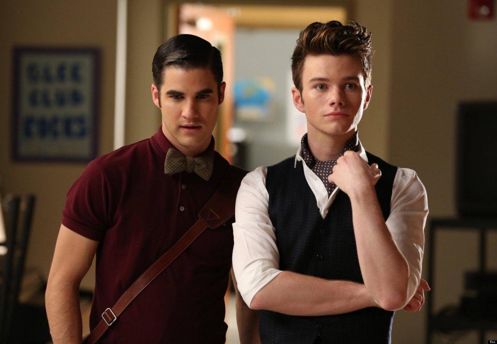 Chris Colfer (Kurt Hummel) em Glee