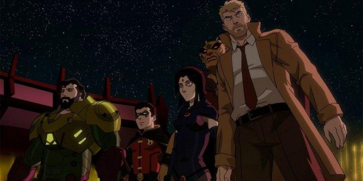 Cena de Crítica   Justice League Dark: Apokolips War