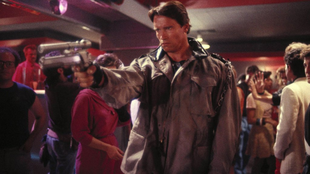 Arnold Schwarzenegger T-800