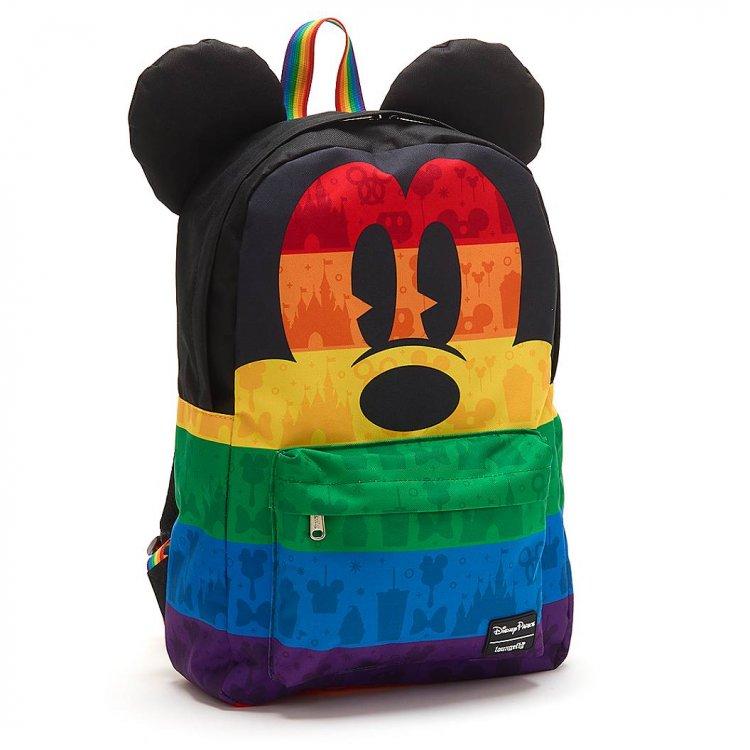 Mochila Mickey do mês do orgulho LGBTQ+