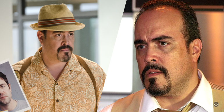 David Zayas (Angel Batista) em Dexter